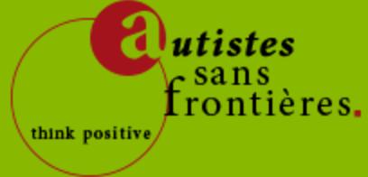 Webassoc.fr avec Autistes sans Frontières