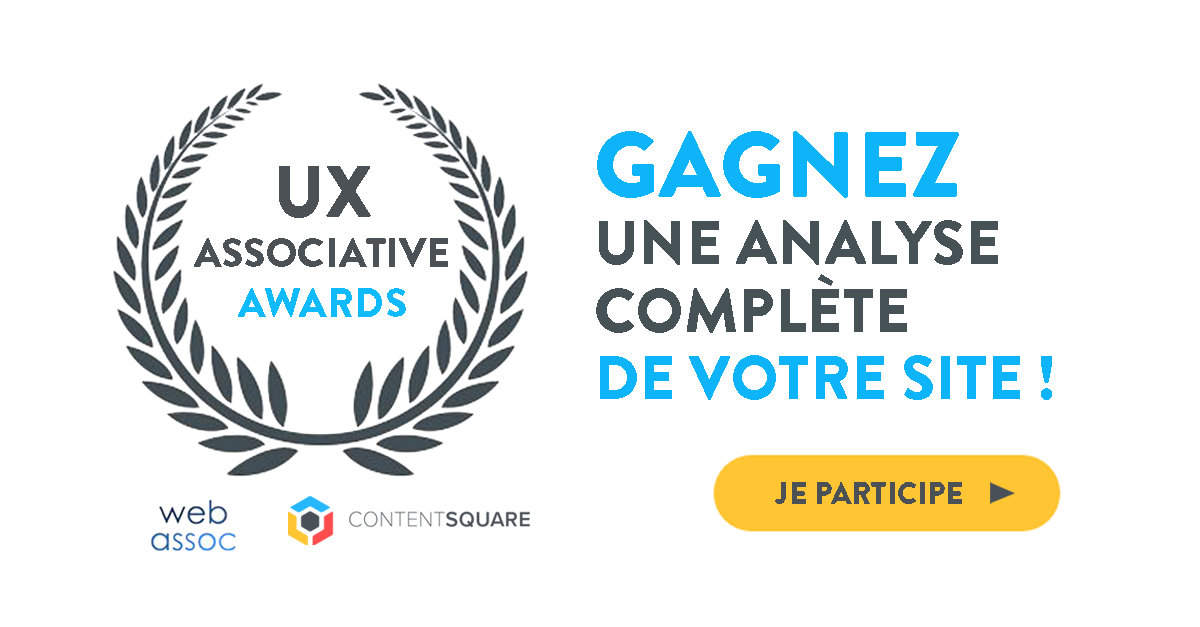 Prix UX Associative Awards