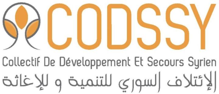 Webassoc.fr avec le Collectif de Développement et Secours Syrien (CODSSY)