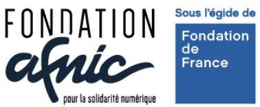Webassoc.fr avec la Fondation Afnic pour la solidarité numérique